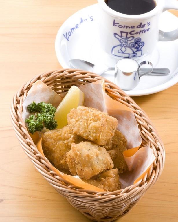 骨なしフライドチキン「コメチキ」(6個入り480円)は小ぶりで食べやすいサイズ