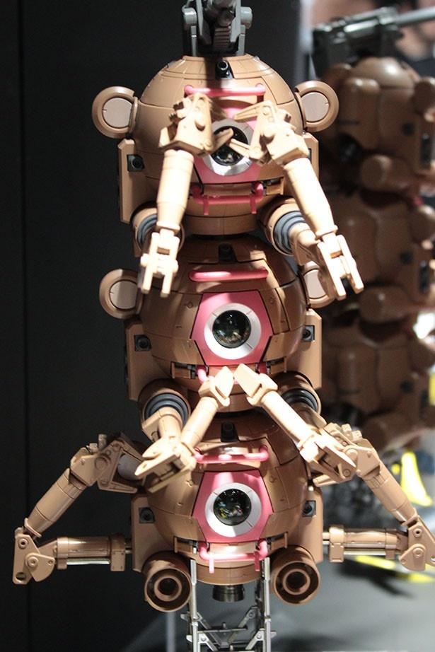 ガンダム好きを公言するSKE48の松井玲奈が「見ざる、言わざる、聞かざる」をイメージして作ったという「モンキーボール」