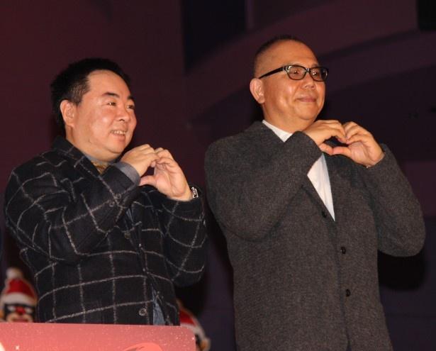 『MIRACLE デビクロくんの恋と魔法』の初日舞台挨拶が開催された