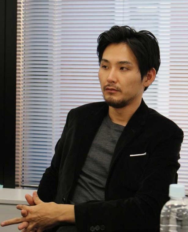 インタビュー中も鋭い視線で取材陣を威嚇するような凄みを見せていた松田龍平