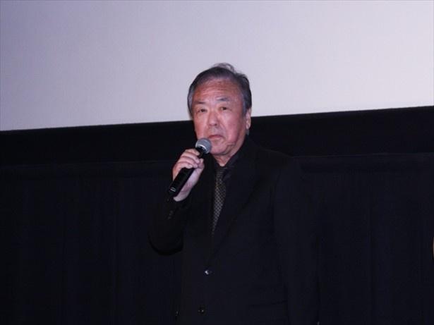 「妻とは親しくしています(笑)」と私生活を明かす神山征二郎監督