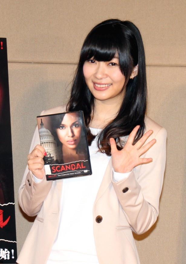 CMナレーション発表会に登場したHKT48・指原莉乃