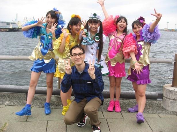 2014年11月2日、大阪・南港ATCにて。今日も一緒に虹かけよう!