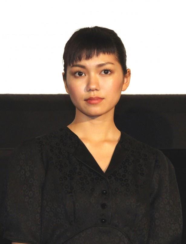 カリスマ的な人気を誇るデジタル系トップアイドル・宇田川咲を演じた二階堂ふみ