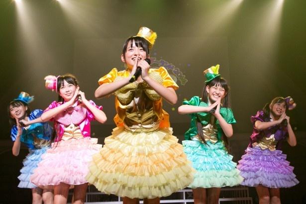 日本青年館のステージに立ったたこやきレインボー