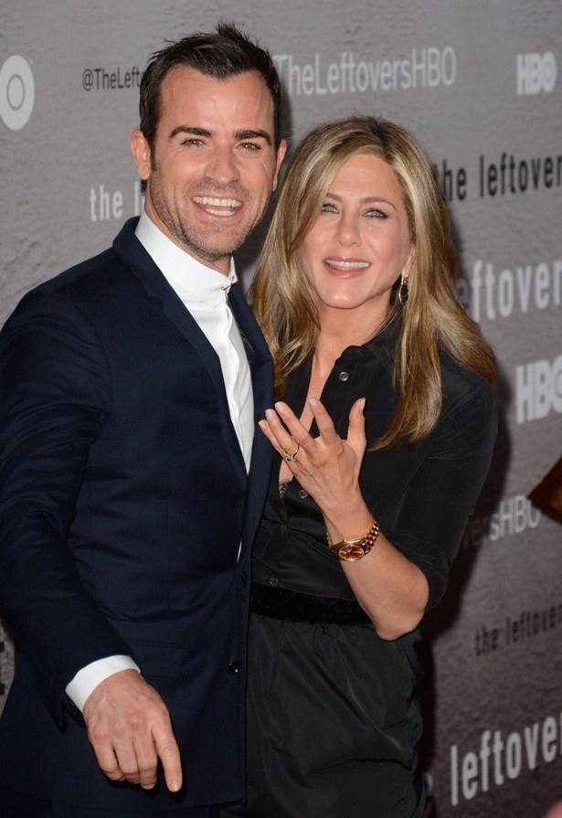 ジェニファーと婚約者のジャスティン・セロー