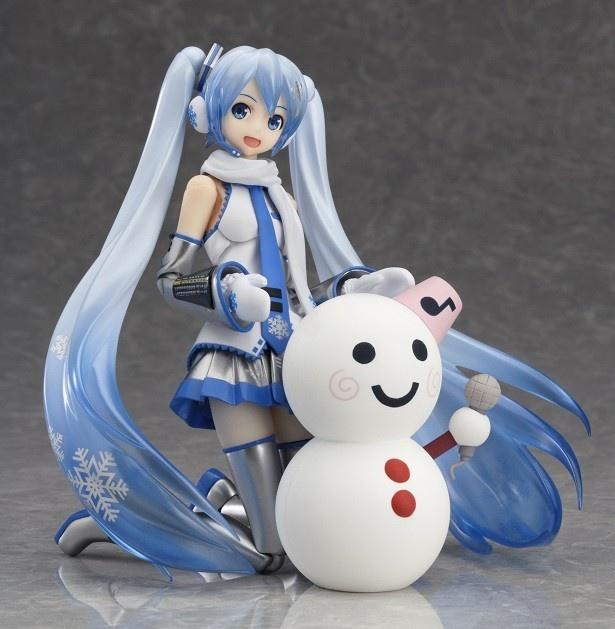 """さっぽろ雪まつりで誕生した""""雪ミク""""が可動フィギュアの「figma 雪ミク」でもお目見え"""