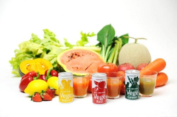 旭川市の「谷口農場」からは、北海道ストレート野菜ジュース