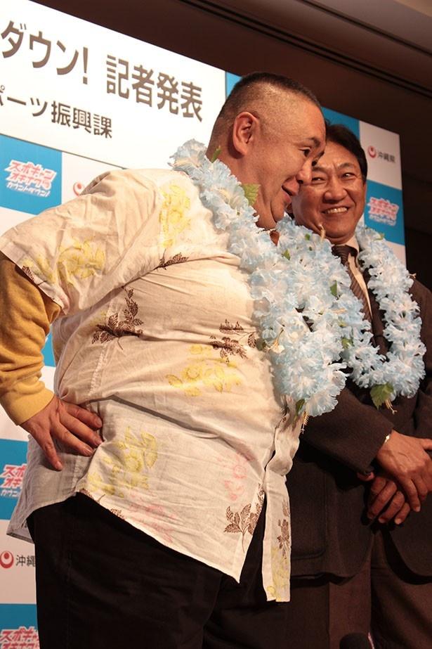 松村は得意のものまねで会場を笑いの渦に巻き込んだ