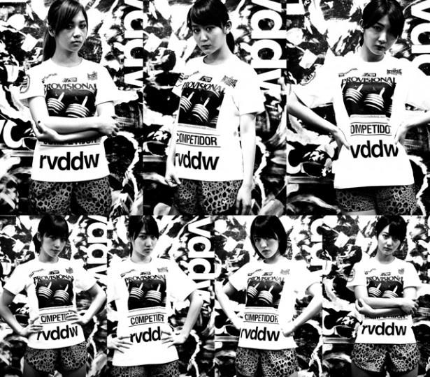 アップアップガールズ(仮)と格闘技ブランド「reversal.dogi.design.works」のコラボによるTシャツが完成