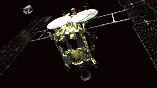 H-IIAロケット26号機で打ち上げが予定されている小惑星探査機「はやぶさ2」
