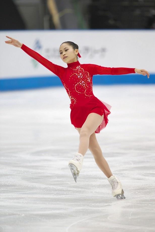 カナダ大会で表彰台に立った宮原知子。NHK杯では表彰台とファイナル進出を目指す