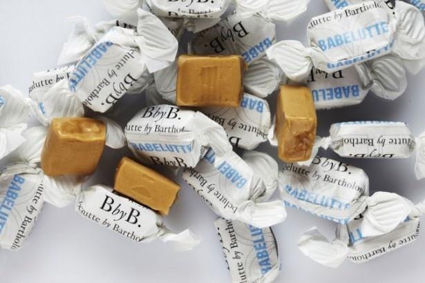 ベルギー北部の伝統的な塩キャラメルBabelutte(バべリュット)。チョコレートやワッフル、アイスクリームに使用されている