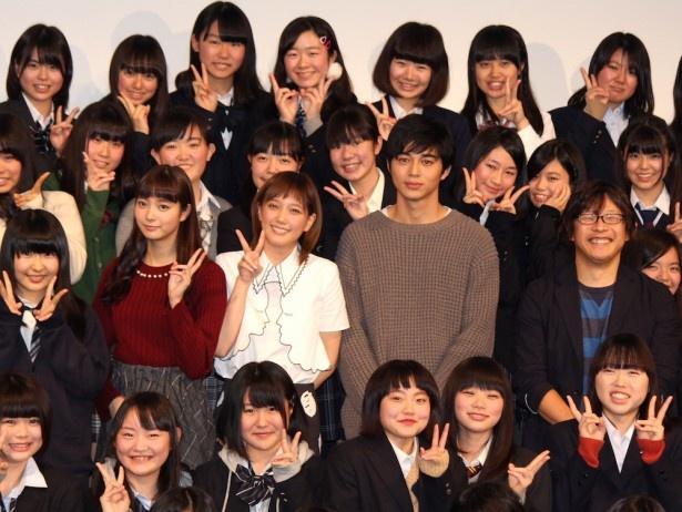 『アオハライド』メンバーが現役女子高生150人に囲まれる!
