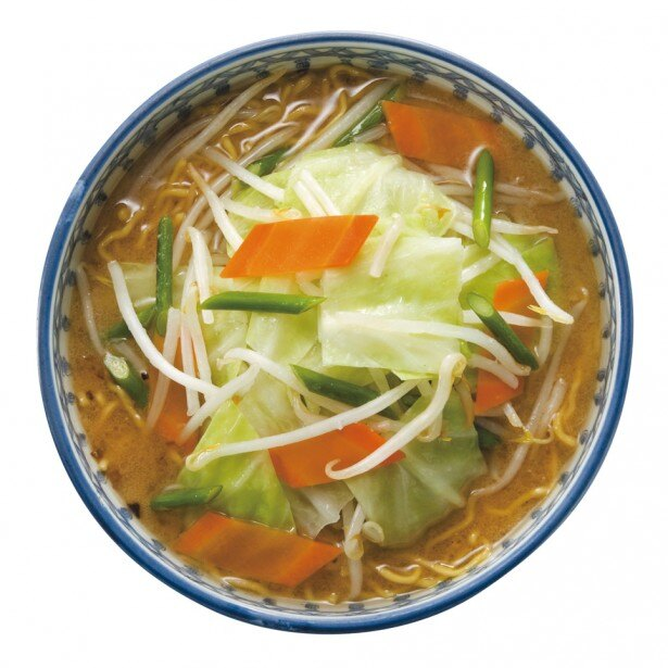 札幌らーめん ほくと亭「味噌野菜らーめん」