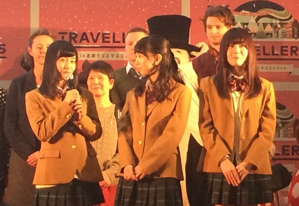 SKE48の柴田阿弥、熊崎晴香、谷真理佳も会見会場に駆け付けた