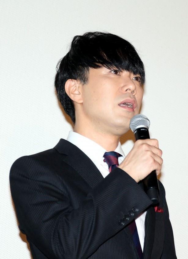 シュヌルル王子役の藤井隆は「僕が7歳の時に見ていた映画に参加させていただいて、本当にうれしく思っています」とあいさつ