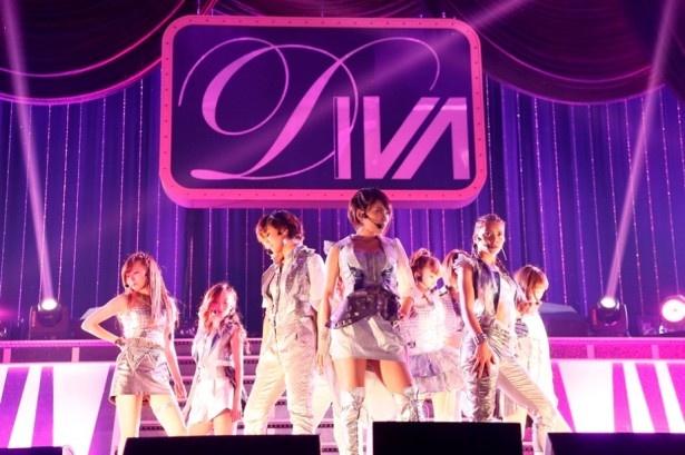 AKB48から派生したダンス&ヴォーカルグループDIVAが千葉・幕張メッセのライブをもって解散