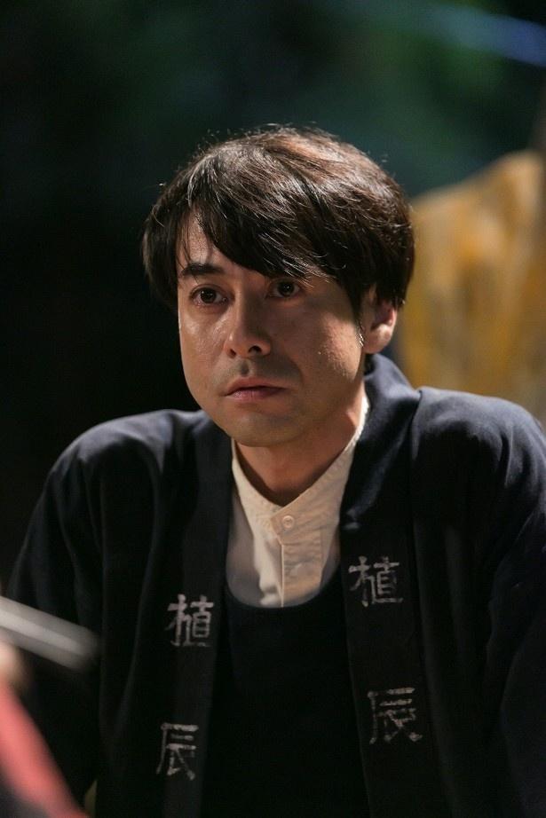 植木職人役の鈴木浩介