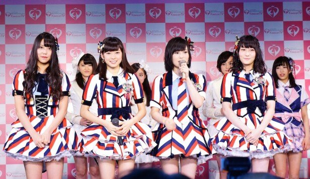 NMB48・山本は「アイドルの枠を広げたい!」と意気込みを披露した