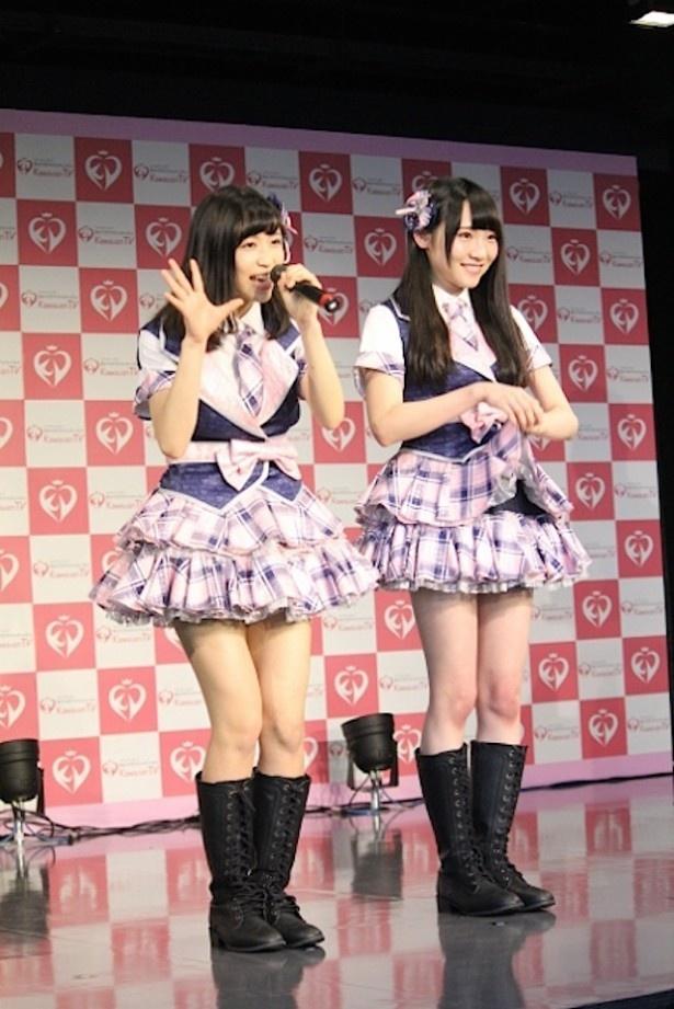 SO.ON projectは前田美咲と栗尾梨花が登壇