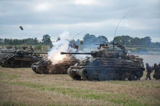 激しい戦車バトルが見どころの『フューリー』