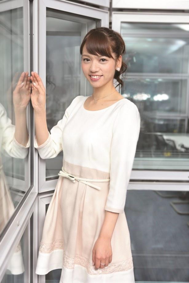 「Oha!4 NEWS LIVE」でスポーツキャスターを務め、今回'15年に期待する出来事について語った加藤多佳子