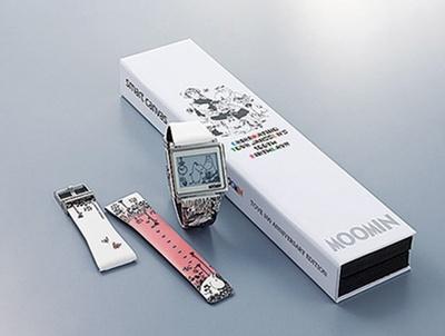 スマートキャンバス「ムーミン」展限定モデル2万7000円は、ベルトが取り外しができる