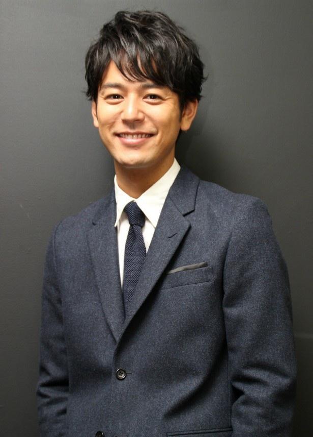 妻夫木聡の魅力的な笑顔がかっこいい