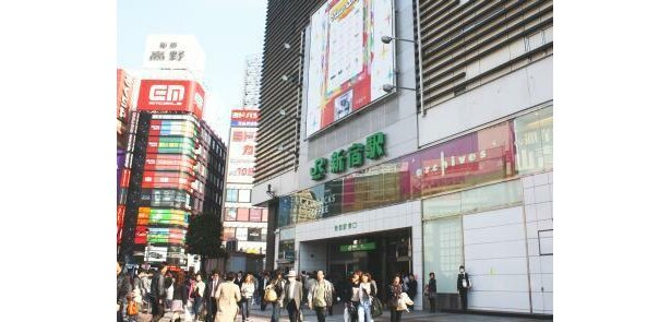 """""""駅にはないルミネ""""渋谷に誕生!(写真は駅ビルのルミネ新宿)"""