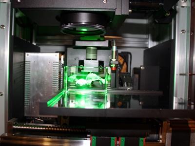 作り方その3:日本でも珍しいレーザー彫刻する機械で製作