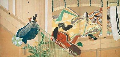 10/3(金)〜11/3(祝)限定で展示される大正時代の源氏絵