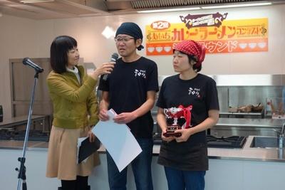 つけ麺・まぜそば部門優勝 麺の匠 和みの店主・平野孝志さん
