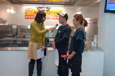 ラーメン部門3位 麺やOK店主・南琢哉さん