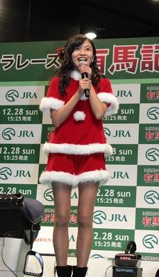 「有馬記念は年に一度のお祭りだから本気で予想します」とガチ宣言をした小島瑠璃子