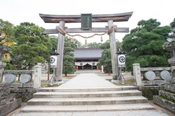 1890年に建立された松陰神社。境内には、松下村塾のほか、歴史館や宝物殿、吉田松陰幽囚ノ旧宅などがある