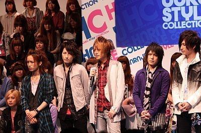 人気ビジュアル系バンド「アリス九號」もコレクションに参加