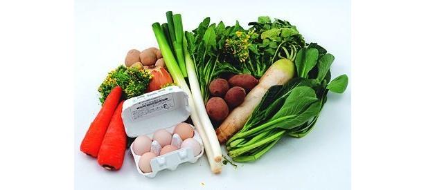 高級卵&無農薬&減農薬野菜が9品入って2980円!わけあり野菜セット ピカイチ野菜くん