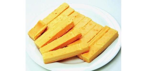 訳ありミルクチーズケーキバーは9〜13本、500g分が届く