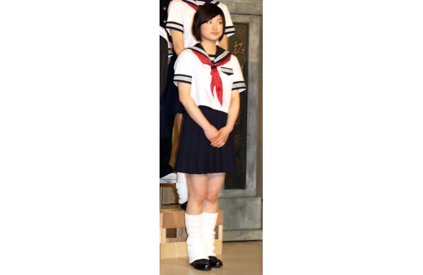 注目若手女優の森田彩華