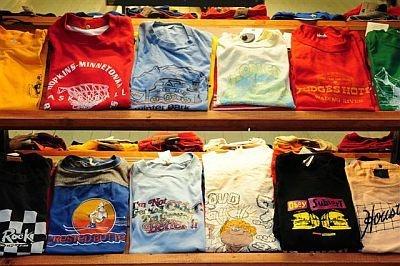 大量投入が予想されるTシャツは、古着初心者でも取り入れやすいから狙い目!※イメージ写真