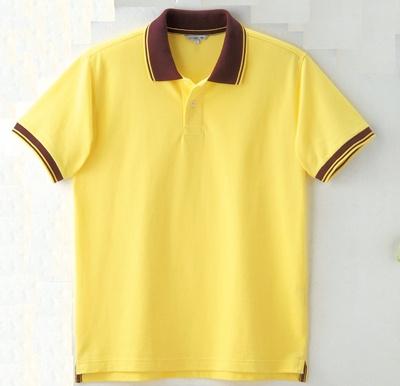 「ドライストレッチラインポロシャツ」(イエロー)