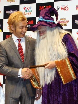 「マジクエスト」の魔法使いとも仲がいい…?