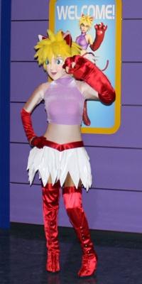 「トウキョウパニッククルーズ」のキャラクター、ガイドの「カーラ」