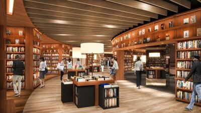 5月上旬にオープン予定のライフスタイル提案型書店「蔦屋書店」は、心地よい大人の空間が感性を刺激してくれる