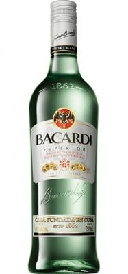 コウモリのロゴマークでお馴染みのラム酒、バカルディ