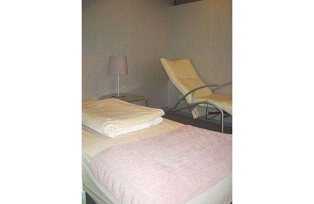 VIPルーム。どの部屋も照明や温度、ベッドに枕まで、安眠できる部屋にこだわっている