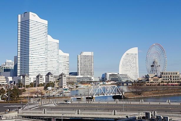 2位は発達した交通網と美しい街並みが人気の横浜