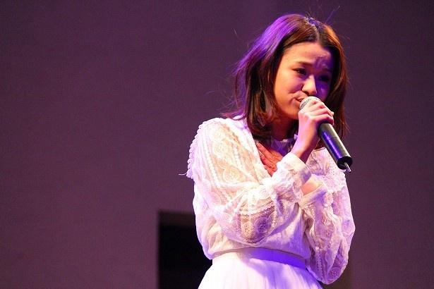パワフルな歌声で会場を圧倒するfumika パワフルな歌声で会場を圧倒するfumika エンタメ