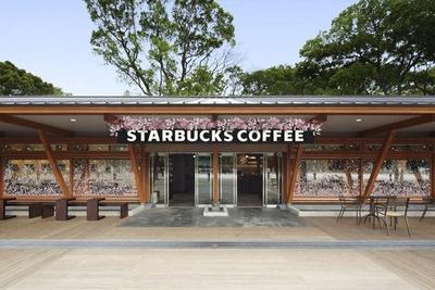 スターバックス コーヒー 上野恩賜公園店の装飾は2月16日(月)より実施